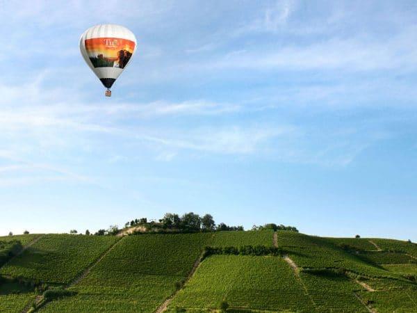 Volo in mongolfiera - Agriturismo Il Cortile
